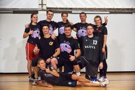 Команда СОБР натурнире Миксомания 2016 (Микс дивизион, 2/14)