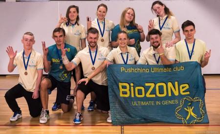 Команда BioZONe натурнире Миксомания 2016 (Микс дивизион, 3/14)