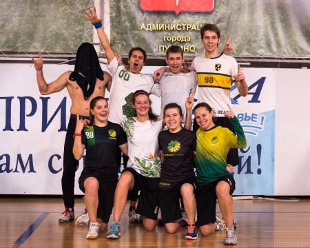 Команда Лаки Лемон натурнире Миксомания 2016 (Микс дивизион, 1/14)