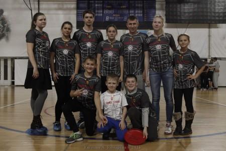 Команда Смельчаки натурнире Миксомания 2016 (Микс дивизион, 14/14)