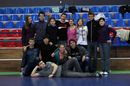 Команда Madcaps натурнире Lubart Ultimate Cup 2012 (ОД, 7/8)