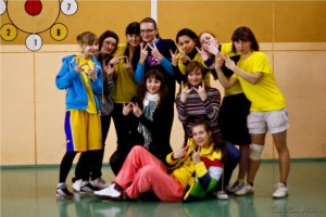 Команда Феникс W натурнире Winter Brest 2010 (ЖД, 6/6)