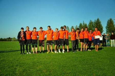 Команда Ogre FK натурнире BUC 2014 (МД, 2/7)
