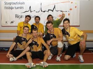 Команда Сокол натурнире Rigas Rudens 2012 (ОД, 1/18)