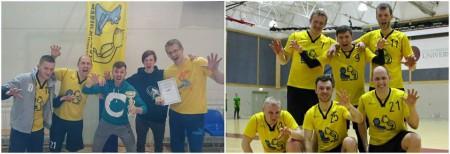Команда Marių Meškos натурнире LUC indoor 2016 (ОД, 6/6)