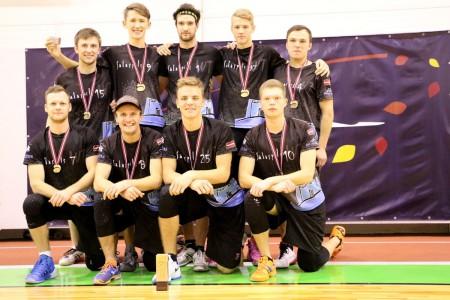Команда Salaspils WT натурнире Rigas Rudens 2016 (ОД, 1/22)