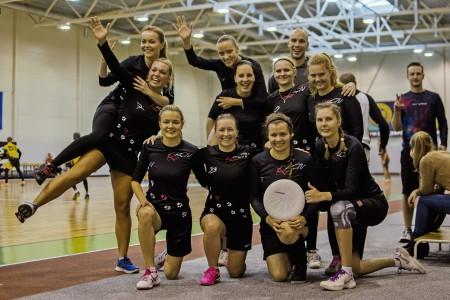 Команда KCN Rīga натурнире Rigas Rudens 2016 (ЖД, 8/14)