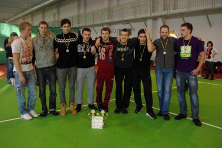 Команда Vorai на турнире LUC indoor 2011 (ОД, 3/8)