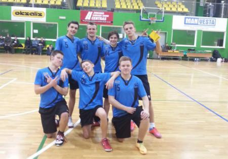 Команда Salaspils Jr. натурнире Ledinis diskas 2014 (ОД, 2/8)