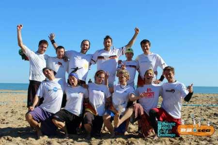 Команда Sandsturm натурнире Bibione 2016 (МД, 1/32)