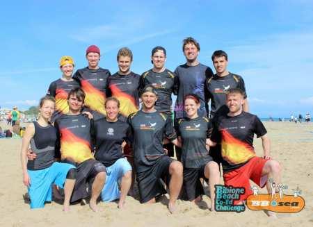 Команда Sandsturm 2 натурнире Bibione 2016 (МД, 2/32)