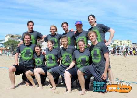 Команда Kamikaze Beach Squad натурнире Bibione 2016 (МД, 7/32)
