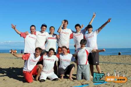 Команда Funatics натурнире Bibione 2016 (МД, 21/32)