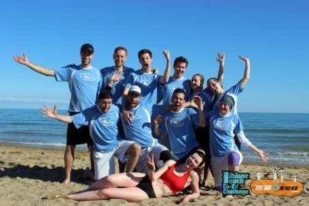 Команда Tiefseetaucher натурнире Bibione 2016 (МД, 23/32)