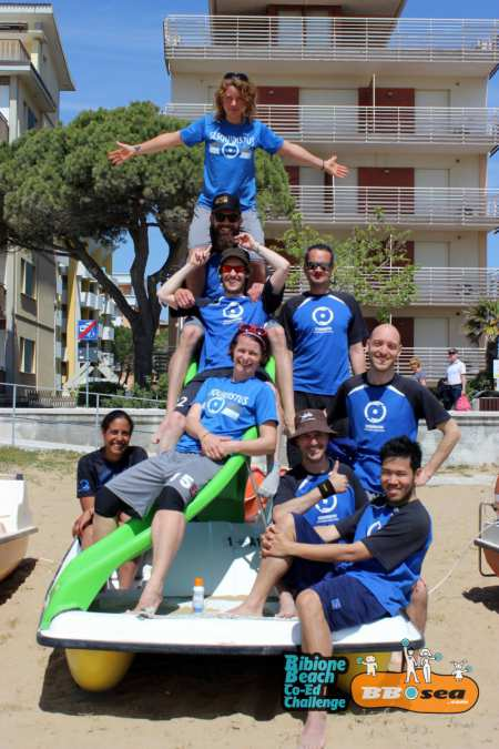 Команда Flying Bretzels натурнире Bibione 2016 (МД, 29/32)