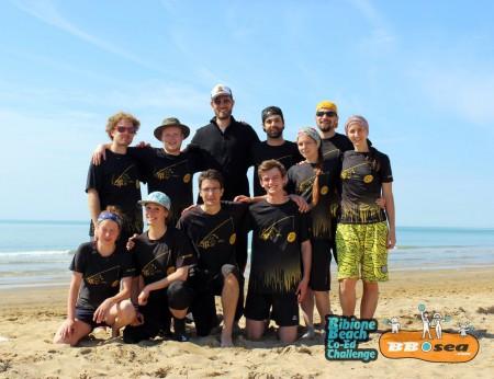 Команда Zombees натурнире Bibione 2016 (МД, 32/32)
