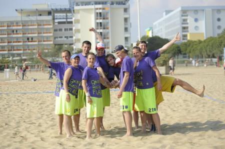 Команда Grand Master Flash натурнире Bibione Beach Challenge 2011 (МД, 13/33)