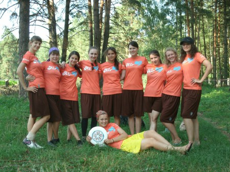 Команда Эрхарт натурнире КВХ 2012 (ЖД, 8/8)