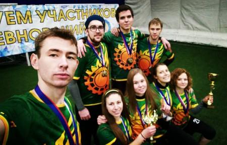 Команда МГТУ им. Баумана натурнире СЗЛ 2016 (МД, 1/11)