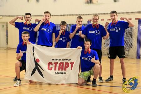 Команда Старт натурнире ЗаПуск 2016 (OPEN-2, 1/16)