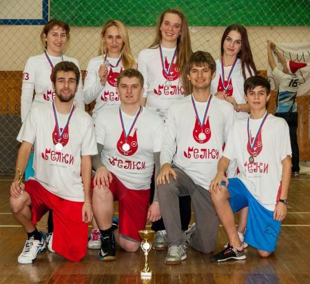 Команда Белки натурнире 2 этап ЗМЛ 16/17 (МД, 2/10)