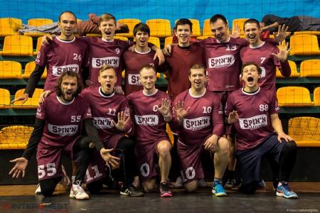 Команда Spin'n натурнире Winter Brest 2017 (ОД, 5/12)
