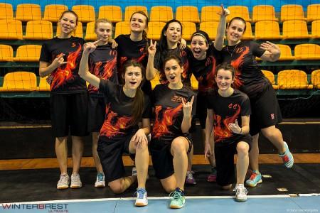 Команда Phoenix натурнире Winter Brest 2017 (ЖД, 6/9)