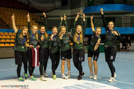Команда KCN Riga натурнире Winter Brest 2017 (ЖД, 3/9)