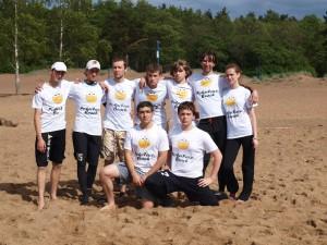 Команда PokerFace:Beach натурнире Вызов Питера 2012 (ОД, 16/21)