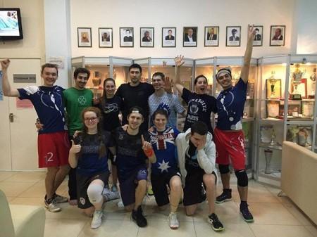 Команда Фря-Crew натурнире Кубок Дубны 2017 (МД, 15/20)