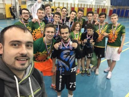 Команда МГТУ им. Баумана-1 натурнире Летящий СпиНН 2017 (ОД, 1/8)
