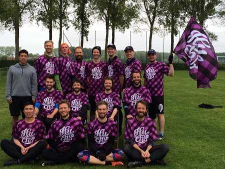 Команда Copenhagen Hucks натурнире Tom's Tourney 2017 (Open-2, 13/20)