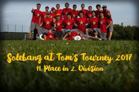 Команда Solebang натурнире Tom's Tourney 2017 (Open-2, 11/20)