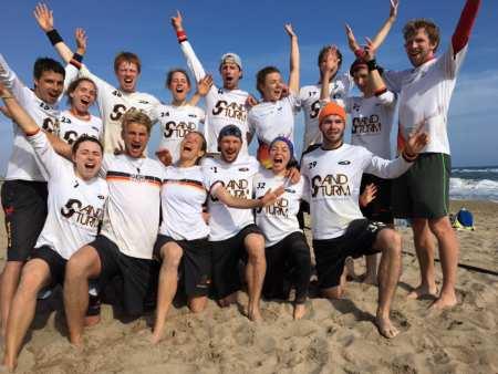 Команда Sandsturm натурнире Copa Tanga 2017 (МД, 1/16)