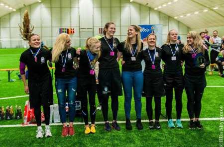 Команда LAT women 3 натурнире Kick in de Kok 2017 (ЖД, 1/15)