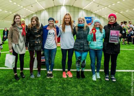 Команда LAT women 2 натурнире Kick in de Kok 2017 (ЖД, 5/15)