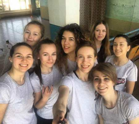 Команда Pearls натурнире ЗЧУ 2017 (ЖД, 6/8)