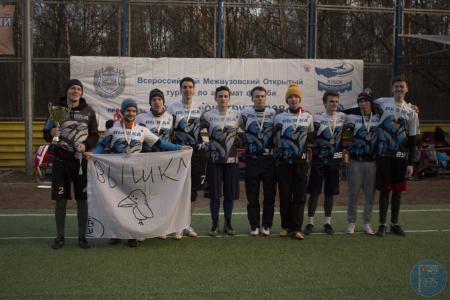 Команда НИУ ВШЭ-1 натурнире Кубок Конструкторов 2017 (ОД, 2/20)