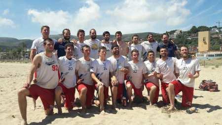 Команда France Open National Team натурнире ConfBeachCup 2017 (ОД, 1/10)