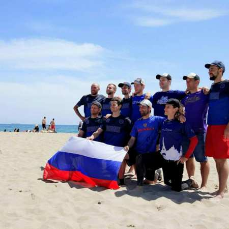 Команда Russia Open National Team на турнире ConfBeachCup 2017 (ОД, 2/10)