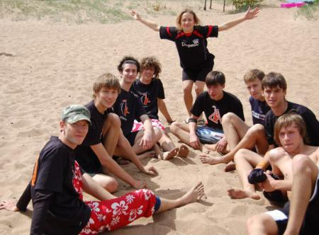 Команда ЮПитер Red натурнире Вызов Питера 2008 (ОД, 6/17)