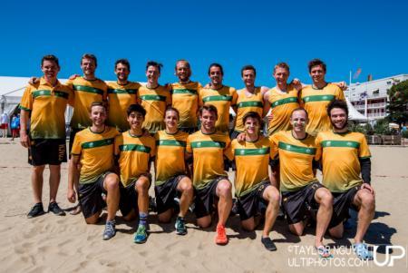 Команда Australia натурнире WCBU 2017 (Men's, 7/23)