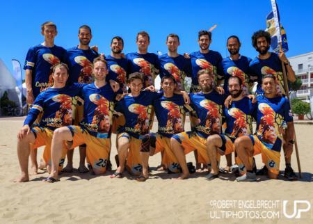 Команда Currier Island натурнире WCBU 2017 (Men's, 19/23)