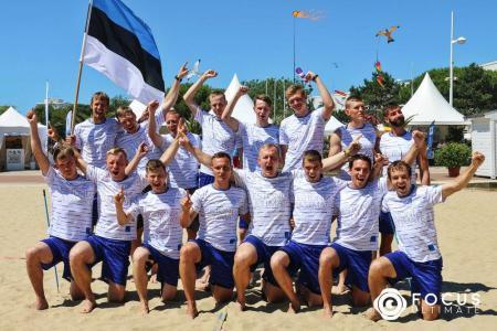 Команда Estonia натурнире WCBU 2017 (Men's, 18/23)