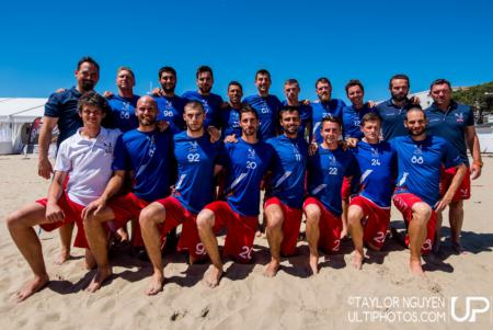 Команда France натурнире WCBU 2017 (Men's, 3/23)