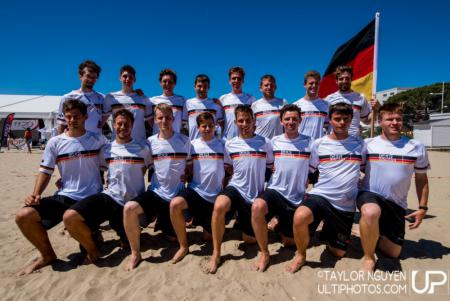 Команда Germany натурнире WCBU 2017 (Men's, 12/23)