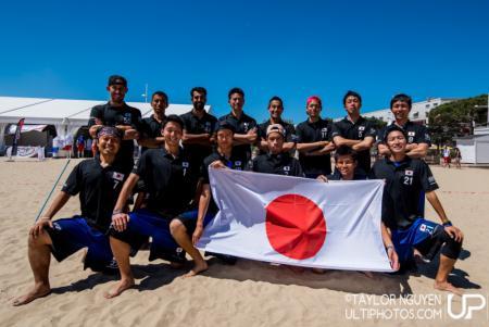 Команда Japan натурнире WCBU 2017 (Men's, 21/23)