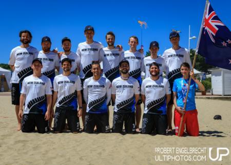 Команда New Zealand натурнире WCBU 2017 (Men's, 17/23)