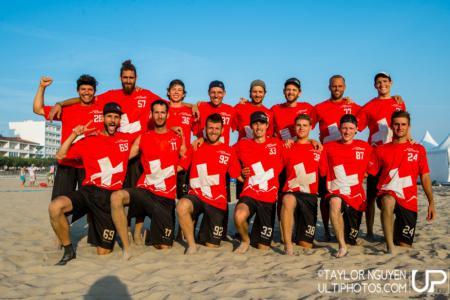 Команда Switzerland натурнире WCBU 2017 (Men's, 11/23)