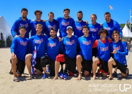 Команда United States of America натурнире WCBU 2017 (Men's, 1/23)